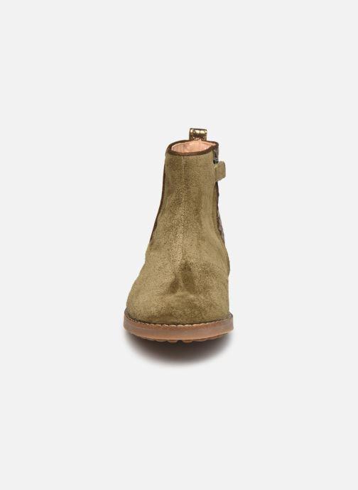 Bottines et boots Pom d Api Trip back Vert vue portées chaussures