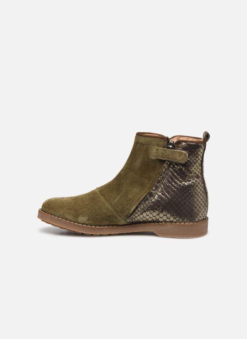 Stiefeletten & Boots Pom d Api Trip back grün ansicht von vorne