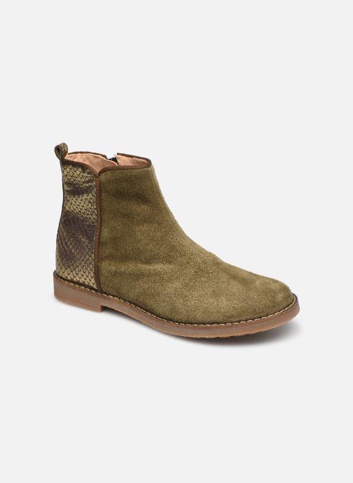 Bottines et boots Pom d Api Trip back Vert vue détail/paire