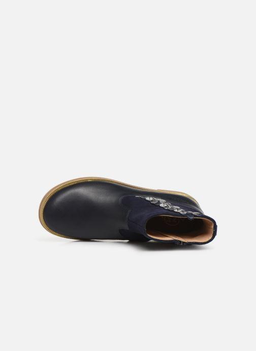 Boots en enkellaarsjes Pom d Api Trip rolls fern Blauw links