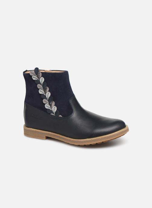 Bottines et boots Pom d Api Trip rolls fern Bleu vue détail/paire