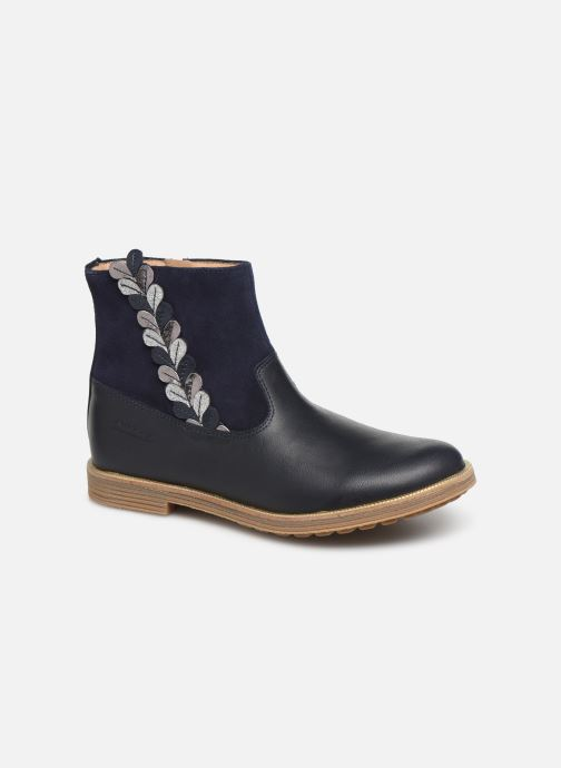Ankle boots Pom d Api Trip rolls fern Blue detailed view/ Pair view