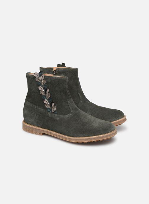 Bottines et boots Pom d Api Trip rolls fern Vert vue 3/4