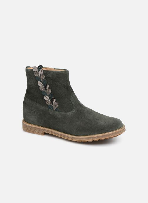 Boots en enkellaarsjes Pom d Api Trip rolls fern Groen detail