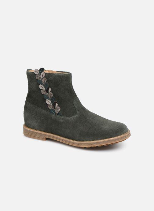 Bottines et boots Pom d Api Trip rolls fern Vert vue détail/paire