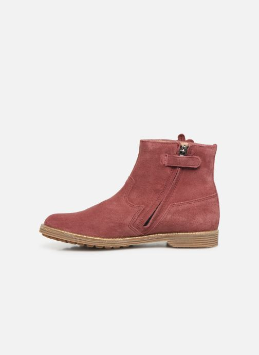 Boots en enkellaarsjes Pom d Api Trip rolls fern Roze voorkant