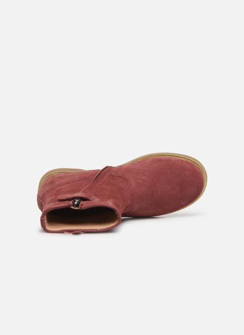 Boots en enkellaarsjes Pom d Api Trip rolls fern Roze links