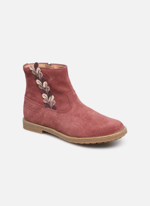 Boots en enkellaarsjes Pom d Api Trip rolls fern Roze detail