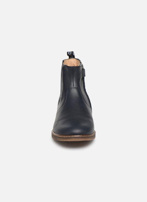 Bottines et boots Pom d Api City jodzip Bleu vue portées chaussures