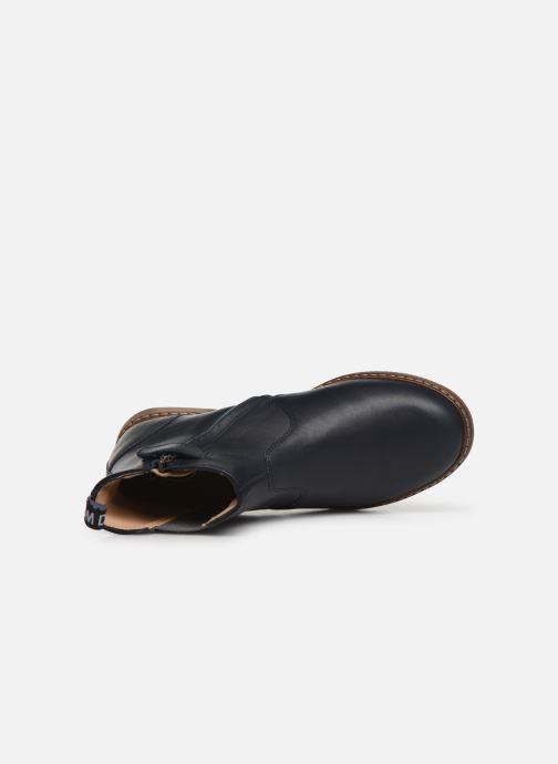 Bottines et boots Pom d Api City jodzip Bleu vue gauche