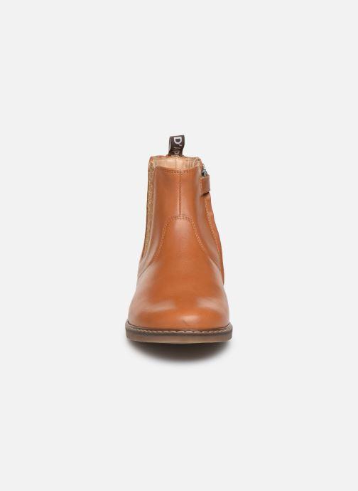 Bottines et boots Pom d Api City jodzip Marron vue portées chaussures