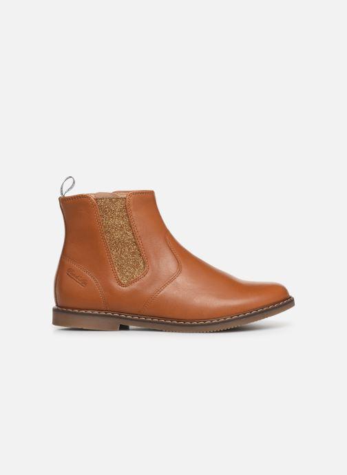 Bottines et boots Pom d Api City jodzip Marron vue derrière