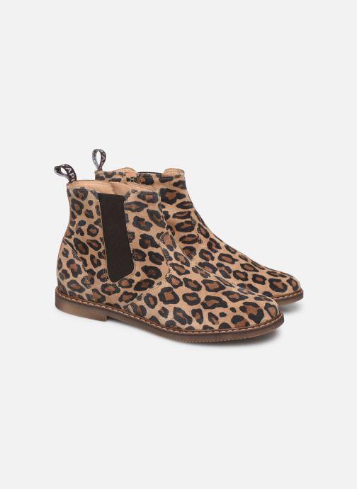 Boots en enkellaarsjes Pom d Api City jodzip Bruin 3/4'