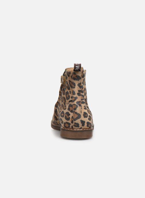 Boots en enkellaarsjes Pom d Api City jodzip Bruin rechts