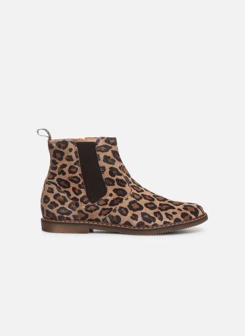 Boots en enkellaarsjes Pom d Api City jodzip Bruin achterkant