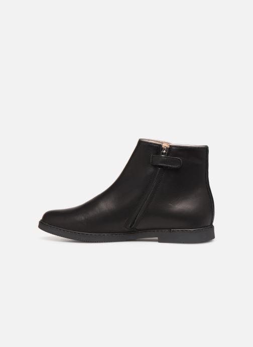 Bottines et boots Pom d Api City getre Noir vue face