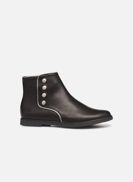 Bottines et boots Pom d Api City getre Noir vue derrière
