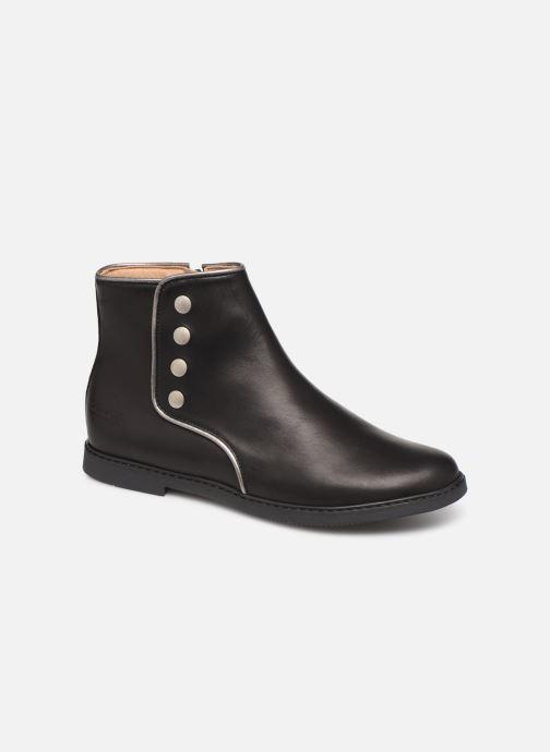 Bottines et boots Pom d Api City getre Noir vue détail/paire