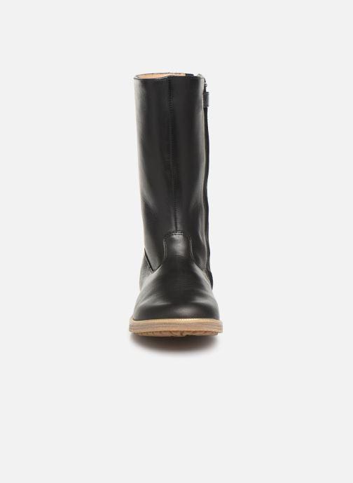 Bottes Pom d Api Trip rolls botte Noir vue portées chaussures