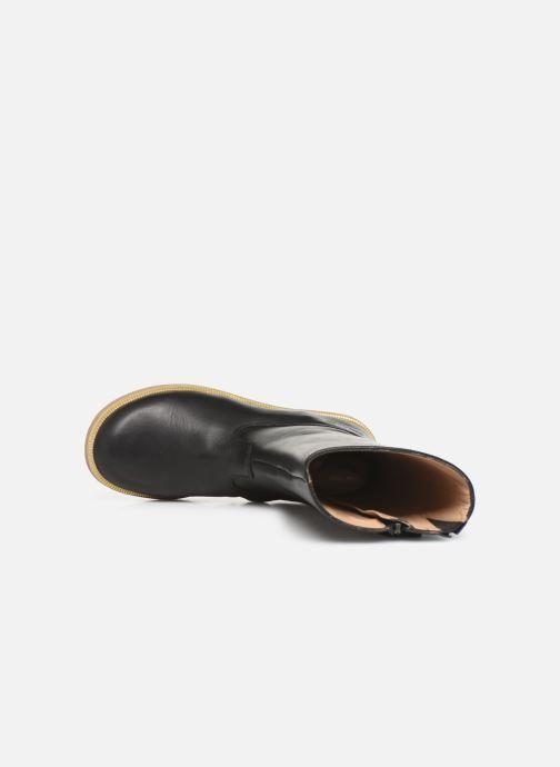 Stiefel Pom d Api Trip rolls botte schwarz ansicht von links