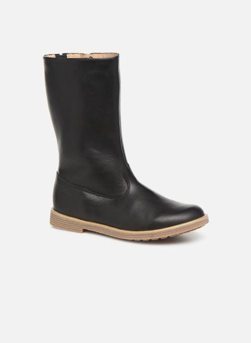 Støvler & gummistøvler Pom d Api Trip rolls botte Sort detaljeret billede af skoene