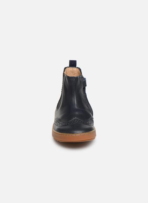 Bottines et boots Pom d Api Wouf jodzip Bleu vue portées chaussures
