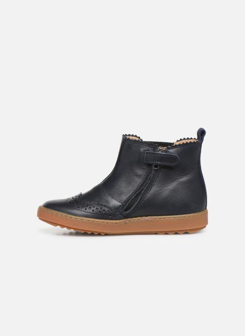 Boots en enkellaarsjes Pom d Api Wouf jodzip Blauw voorkant