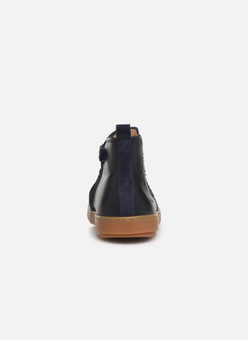 Bottines et boots Pom d Api Wouf jodzip Bleu vue droite