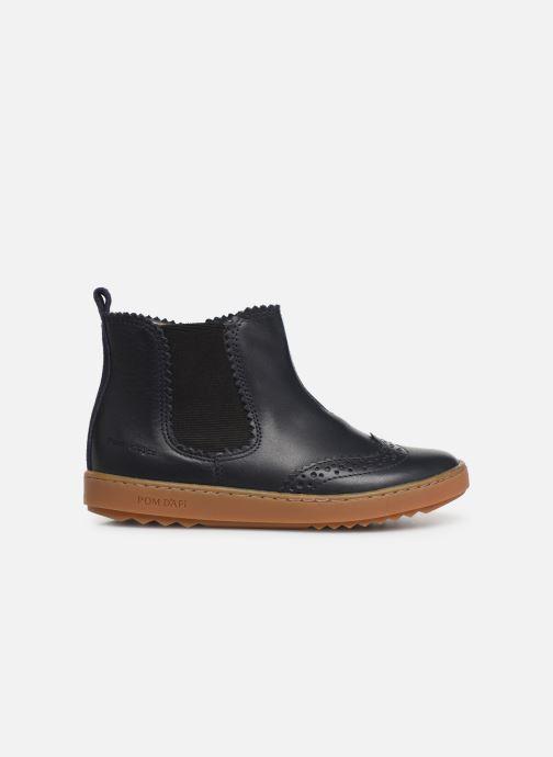 Bottines et boots Pom d Api Wouf jodzip Bleu vue derrière
