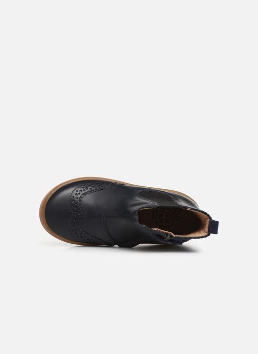 Bottines et boots Pom d Api Wouf jodzip Bleu vue gauche