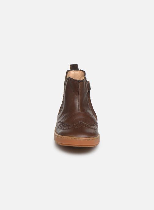 Bottines et boots Pom d Api Wouf jodzip Marron vue portées chaussures