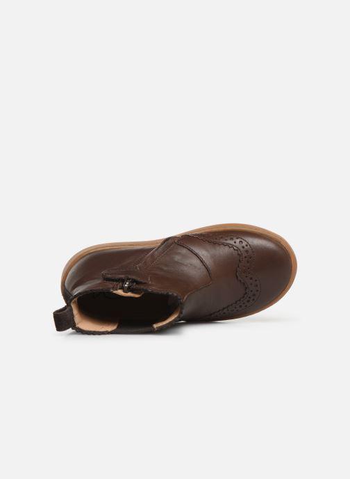 Stiefeletten & Boots Pom d Api Wouf jodzip braun ansicht von links