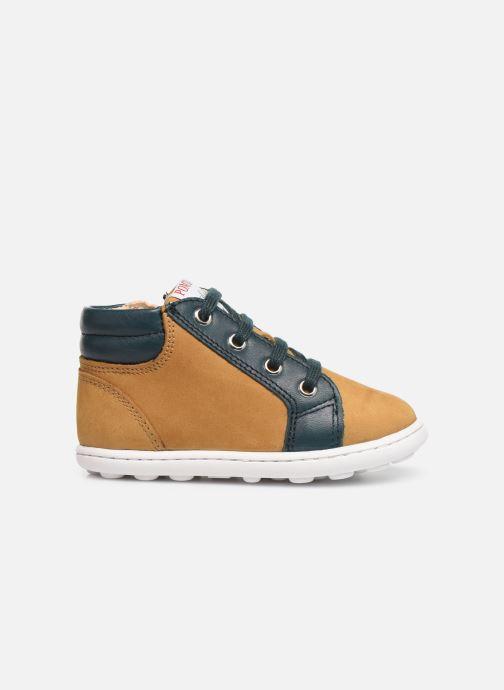 Bottines et boots Pom d Api Tip hi zip Beige vue derrière
