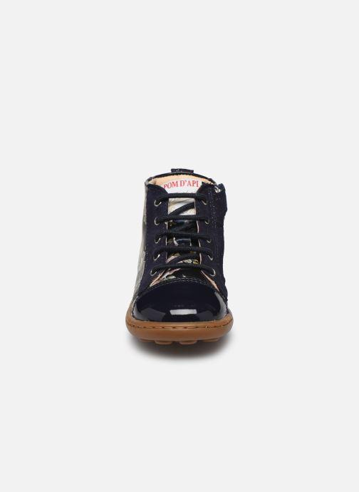 Boots en enkellaarsjes Pom d Api Tip top Blauw model