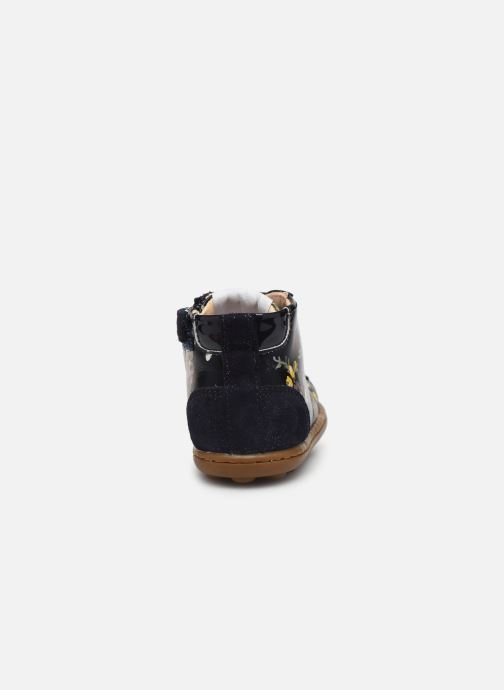 Ankle boots Pom d Api Tip top Blue view from the right
