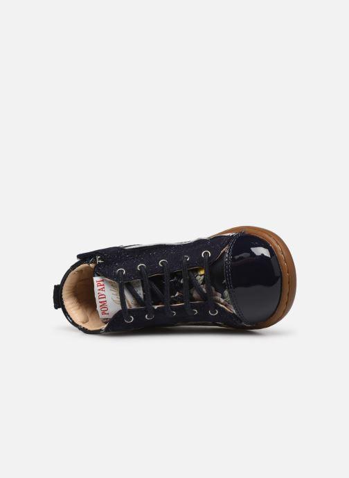 Boots en enkellaarsjes Pom d Api Tip top Blauw links