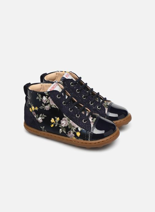 Ankle boots Pom d Api Tip top Blue detailed view/ Pair view