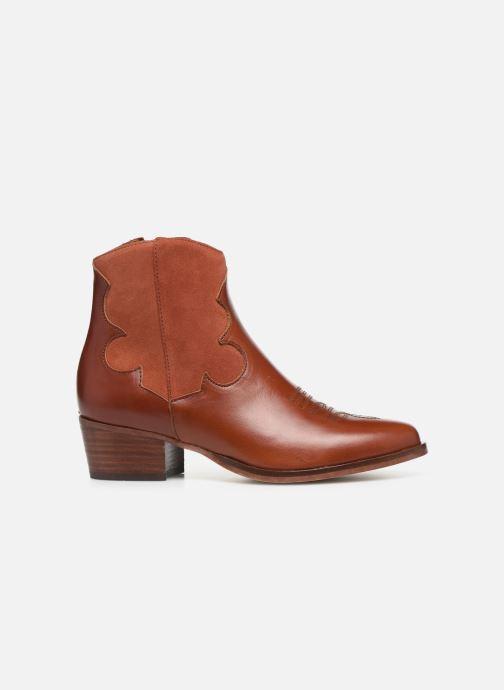 Bottines et boots Schmoove Woman Polly West Marron vue derrière