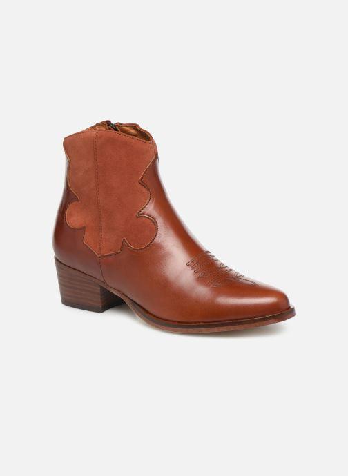 Bottines et boots Schmoove Woman Polly West Marron vue détail/paire
