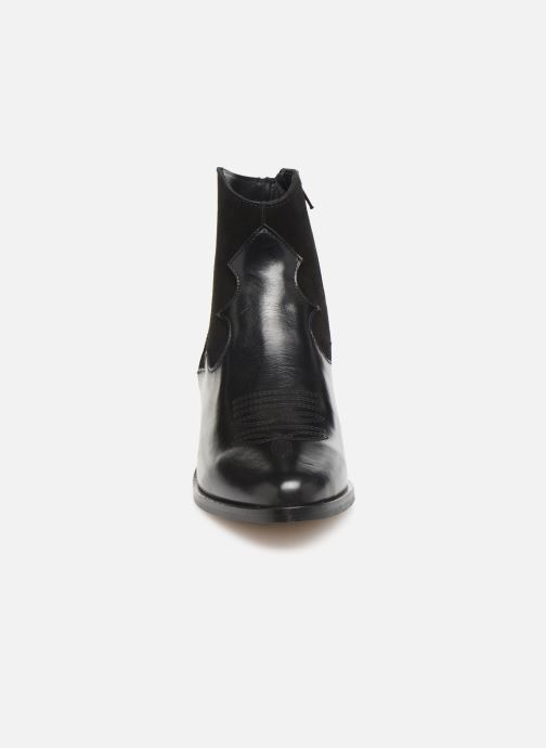 Ankle boots Schmoove Woman Polly West Black model view