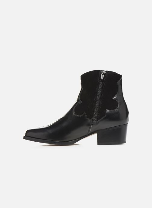 Bottines et boots Schmoove Woman Polly West Noir vue face