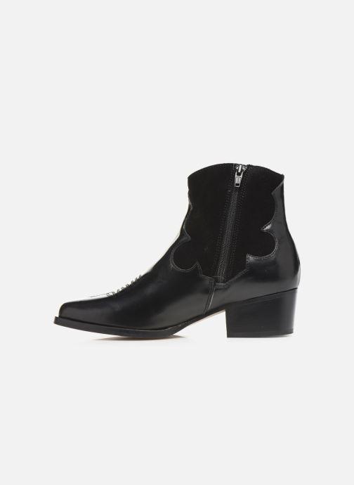 Bottines et boots Schmoove Woman Polly West Noir vue face