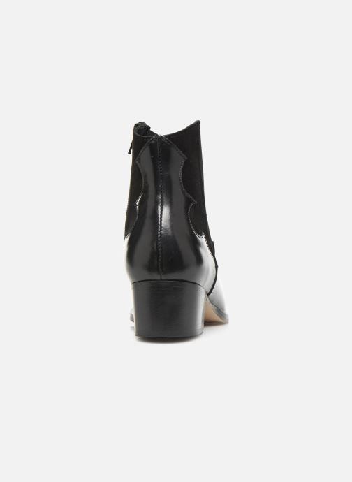 Bottines et boots Schmoove Woman Polly West Noir vue droite