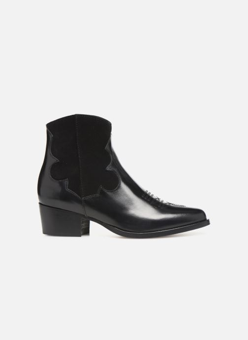 Bottines et boots Schmoove Woman Polly West Noir vue derrière