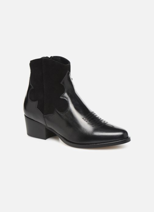 Bottines et boots Schmoove Woman Polly West Noir vue détail/paire