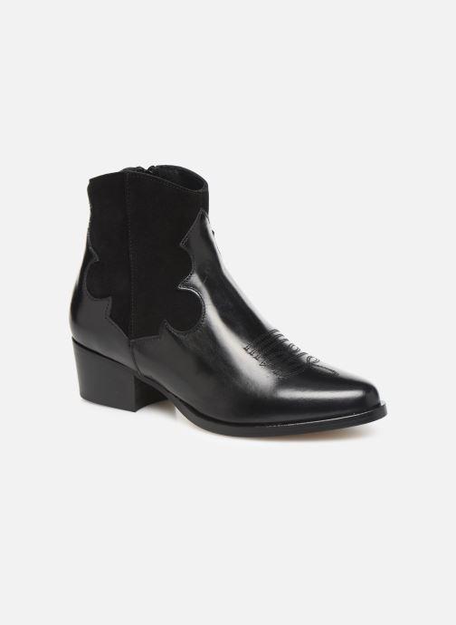 Bottines et boots Schmoove Woman Polly West Noir vue détail/paire