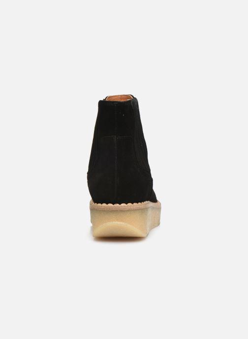 Bottines et boots Schmoove Woman Pallas Beetle Noir vue droite