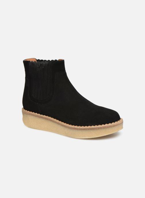 Bottines et boots Schmoove Woman Pallas Beetle Noir vue détail/paire