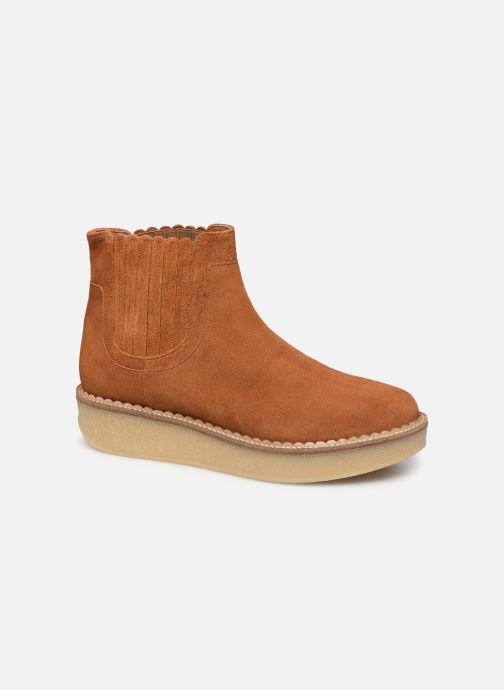 Bottines et boots Schmoove Woman Pallas Beetle Marron vue détail/paire