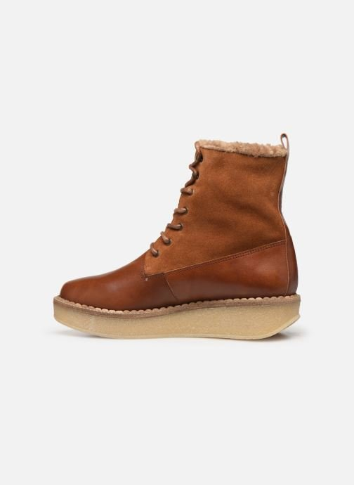 Ankle boots Schmoove Woman Pallas Ranger Brown front view